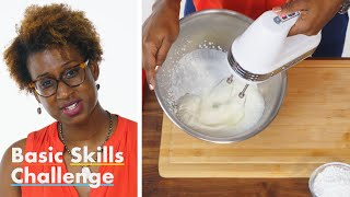 50 People Try to Make Whipped Cream | Epicurious