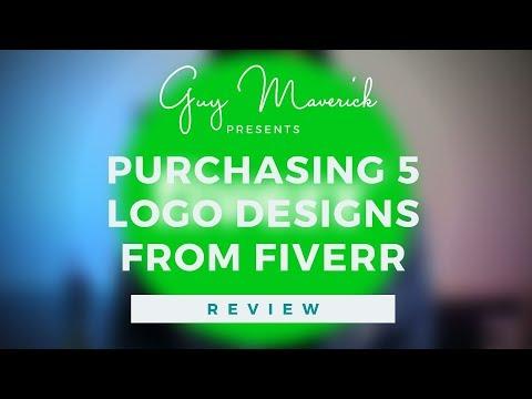 I Purchased 5 Logo Designs From Fiverr | Guy Maverick