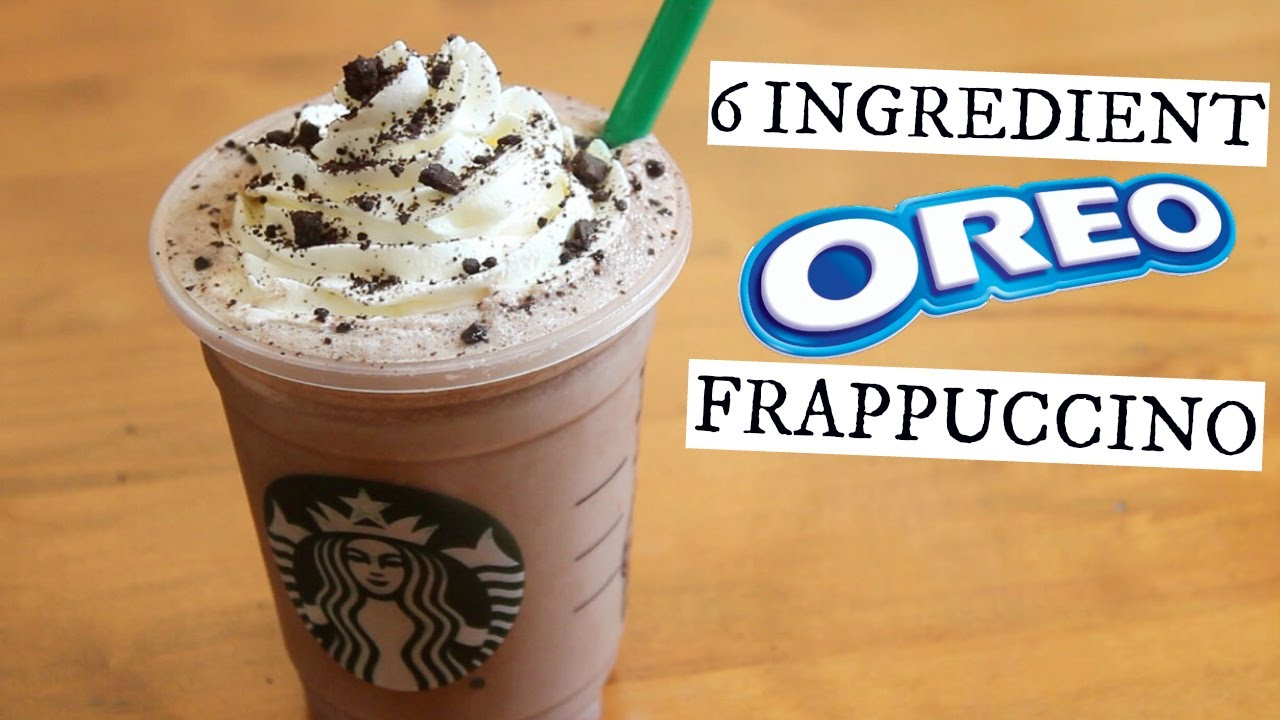 Oreo Frappuccino Starbucks Secret Menu
