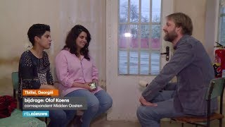 Gevluchte zussen willen naar Nederland