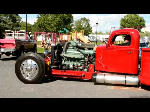 OUTSTANDING HOT ROD PICKUP WITH 8V92 DETROIT DIESEL