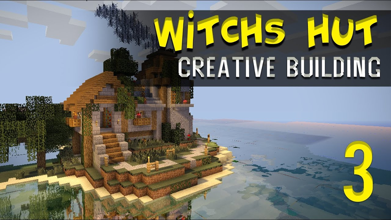 Minecraft Creative Build Witch S Hut W Brewing Tower