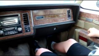1982 Buick park avenue drive around OS KUSTOMS