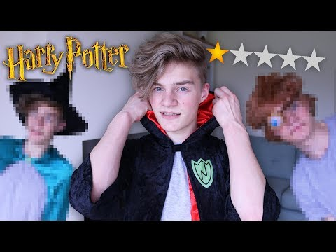 BUYING THE WORST REVIEWED HARRY POTTER COSTUMES!