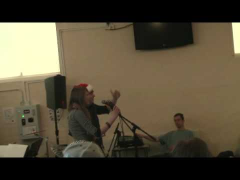 Thomas Cove and Emma Dyer- Fairytale of New York- Live at Cooksey Common Room, Stantonbury Campus