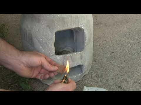 rocket stove, DIY off-grid water heater