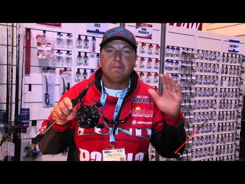 Eagle Claw's NEW Magnum Inline Ice Reel at ICAST 2015