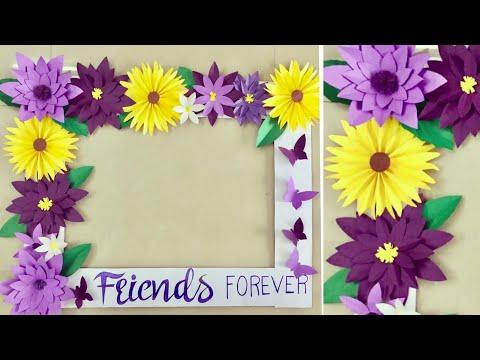 DIY Friendship Day | Selfie photo frame for Friendship day | Friendship Day Craft