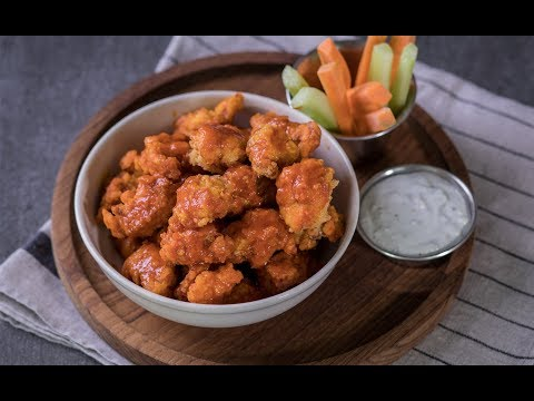 ไก่ป๊อบคอร์นบัฟฟาโล Buffalo-Styled Popcorn Chicken - วันที่ 10 Jul 2018