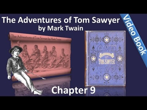 Chapter 09 - The Adventures of Tom Sawyer by Mark Twain - Tragedy In The Graveyard