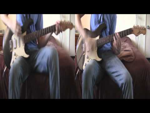 Hell Above and May These Voices Startle You In Your Sleep by Pierce the Veil Dual Guitar Cover