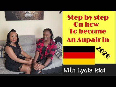 HOW TO BECOME AN AUPAIR IN GERMANY IN 2020 0NE ON ONE WITH LYDIA KIOI