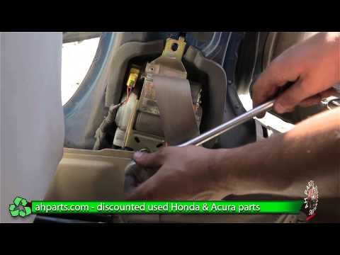 How to replace / change a Seat Belt for a 2001 2002 2003