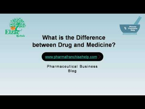 Difference between Drug and Medicine