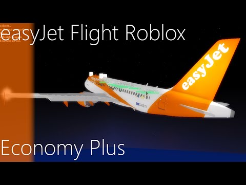 Roblox EasyJet Flight (Economy Plus)