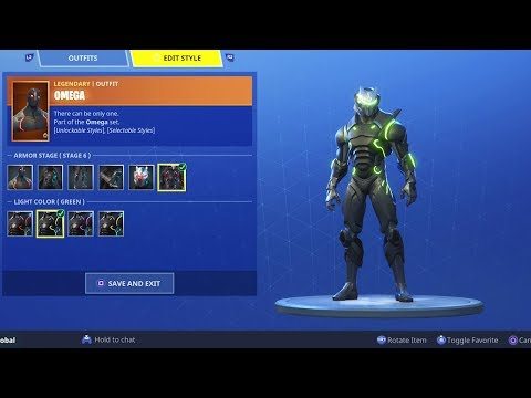 How To Change Skin COLORS in Fortnite..