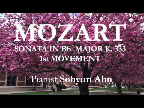 Mozart Sonata K.333, 1st Movement - Sohyun Ahn