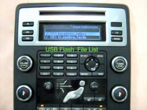 MOST USB Adapter SKIF for VOLVO xc70,s80; LAND ROVER Freelander-2 - YouTube