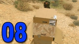 Metal Gear Solid V Phantom Pain - Part 8 - Cardboard Box is OP (Walkthrough / Gameplay)