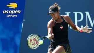 Naomi Osaka Defeats Glushko in R2 of the 2018 US Open