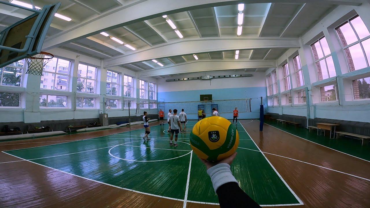 Волейбол от первого лица | Volleyball first person | 82 episode | BEST GAME | POV