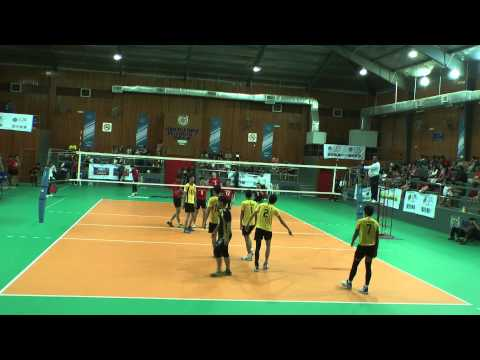 Perak Vs Sarawak (Set 4) Malaysia Volleyball Championship 2014