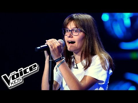 "Zuzia Mańkowska – ""The Scientist"" – Przesłuchania w ciemno – The Voice Kids Poland"