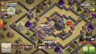 GOWIVALK silvy lider clan NEW FAMILY ATAQUE PERFECTO WAR Clash of Clans - 2016-08-12