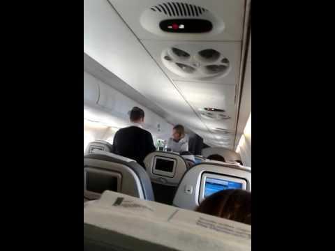 Azafatas en Austral Líneas Aéreas