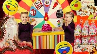 МИЛАШКИ ШОУ #2 Смайл Челлендж Emoji Challenge Коробка Киндер Сюрприз Принцессы Подарки Сюрпризы
