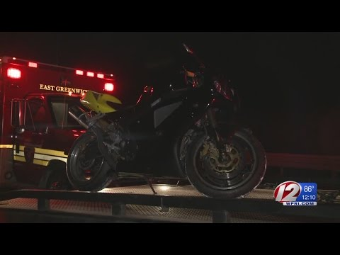 Freshly painted road lines a factor in motorcycle crash
