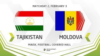 LIVE Development сup 2021 Tajikistan vs Moldova