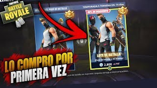 FORTNITE ? A SKIN WITHOUT SKIN BUY THE BATTLE PASS FOR THE FIRST TIME!! | + MINI DRAW