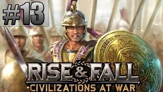 Прохождение Rise & Fall: Civilizations at War [Часть 13] Минус Тиберий