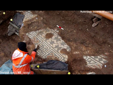 Amazing Ancient Roman Mosaics Found In The UK May 6 2017