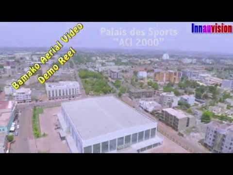 bamako aerial view demo reel