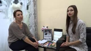 Как выбрать свадебное платье  Интервью у свадебного салона Елена Дежинская