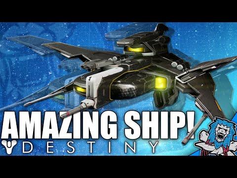 Destiny: Amazing Secret Ship - VIENNA SINGER - How To Get (Black Spindle Ship)