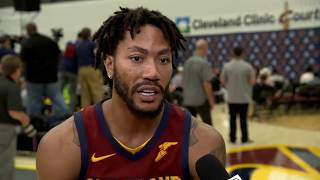 Derrick Rose playing with a chip on his shoulder   2017 NBA Media Day   ESPN