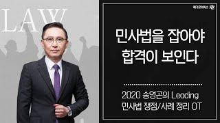 변호사시험 2020 송영곤의 Leading 민사법 쟁점…