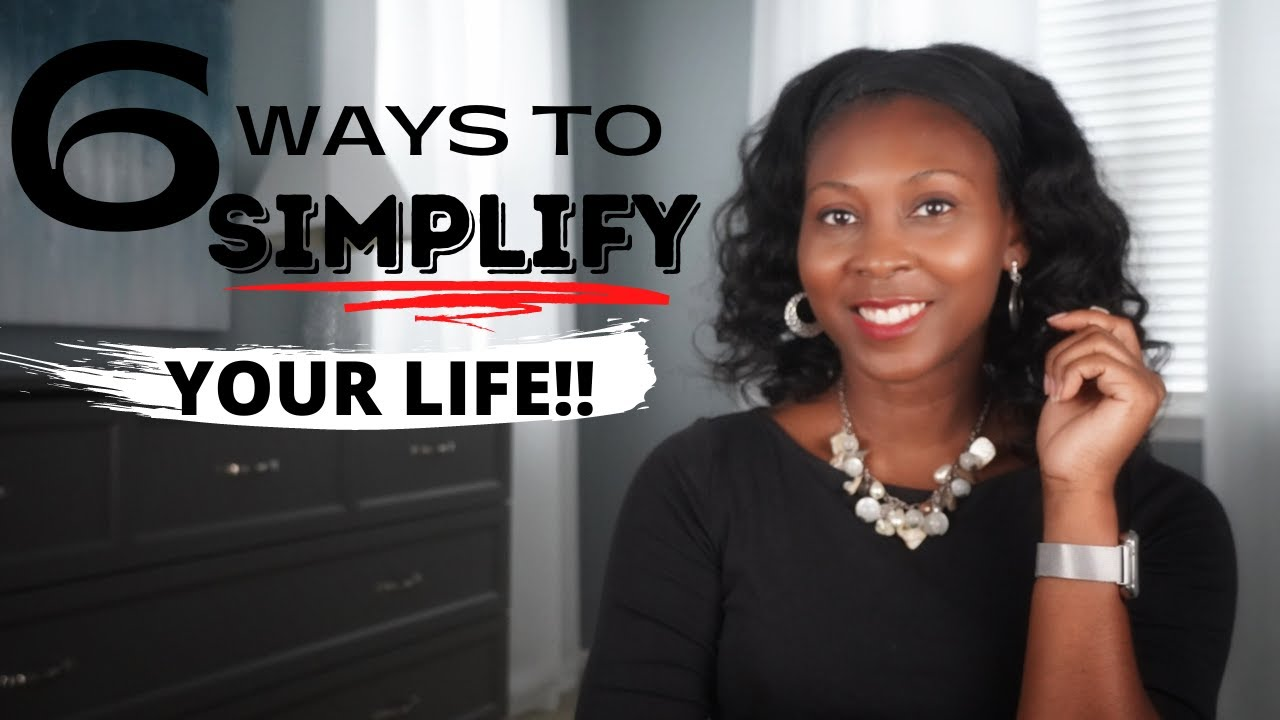 How to Simplify Your Life ⎟FRUGAL LIVING TIPS