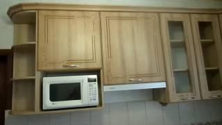 кухня мдф патина орех светлый 2