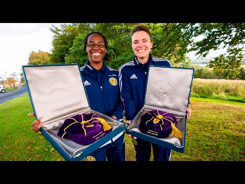 Scotland centurions Ifeoma Dieke and Jo Love recognised with UEFA award