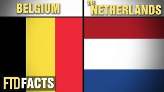The Differences Between NETHERLANDS and BELGIUM