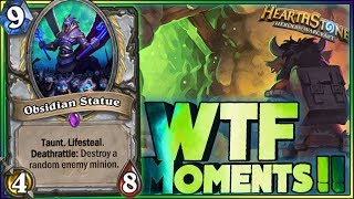 Hearthstone - WTF Moments - Kobolds and Catacombs Funny Rng Moments