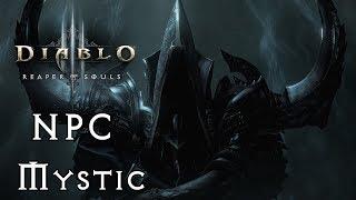 Diablo 3 , Reaper of Souls - Mystic , Transmogrify & Enchanting  - GullofDoom - Guide