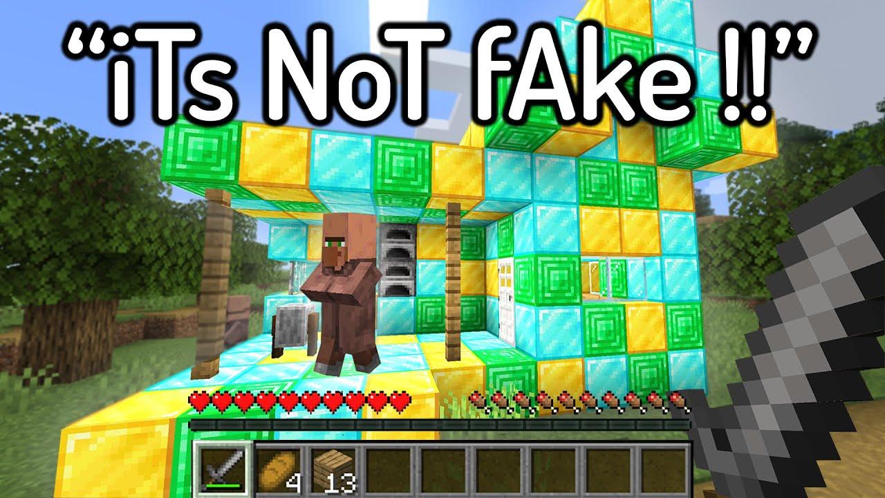 Download Most HILARIOUS FAKE Minecraft Speedruns Ever...