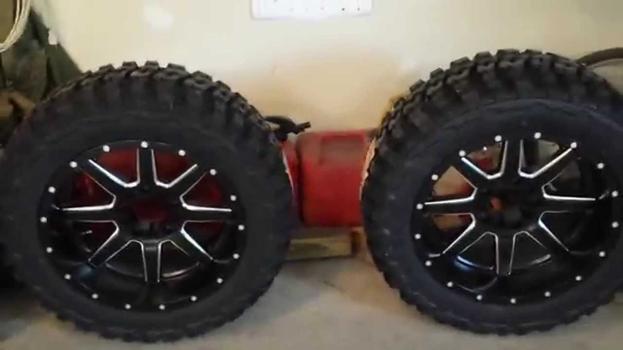 New Rims And Tires Youtube
