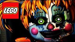 How To Build LEGO Salvaged Baby Five Nights at Freddy s 6 Compilation