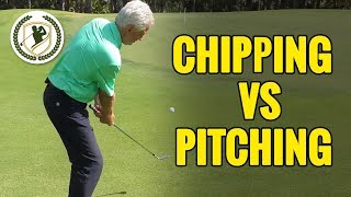 CHIPPING VS PITCHING IN GOLF: WHICH IS THE BEST + GOLF TIPS FOR BOTH!